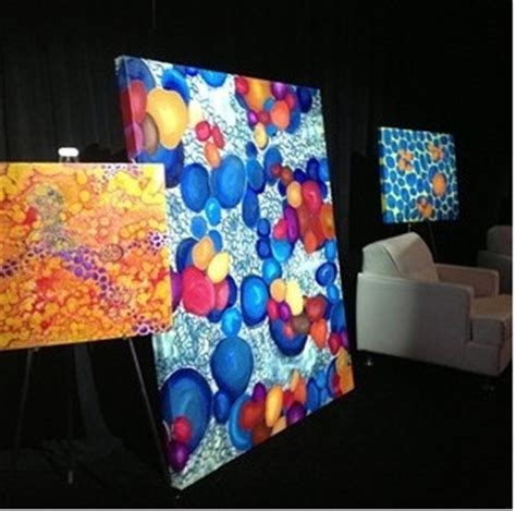 Loveland Artist's Work, Inspired by Cancer Cells ...