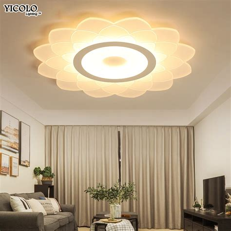 Led Lights For Room With Remote by Led Home Lights For Living Room Modern Led Ceiling Lights