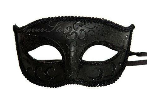 charming mens black masquerade ball mask minimal