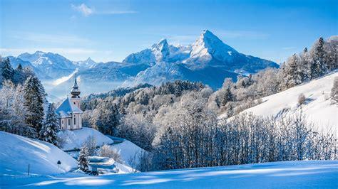 Winter Landscape With Snow 4k Ultra Hd Wallpaper