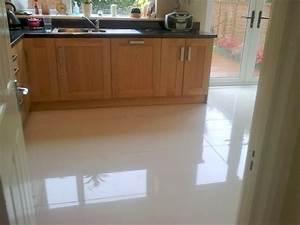 Kitchen floor tile ideas home design awe inspiring white for How to clean white tile floors