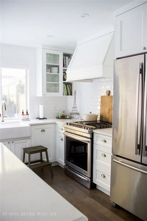 big white kitchen my big beautiful kitchen renovation before and after 959 | kitchen white living room renovation 111