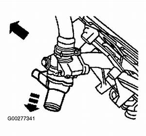 Service Manual  How To Replace Thermostat 1996 Lincoln