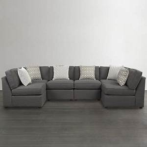 Bassett 3975 USECT6 Beckie U Shaped Sectional Discount