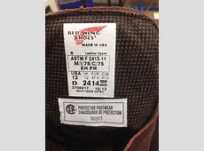 Red Wing Shoes Recalls Steel Toe Work Boots Due to Impact