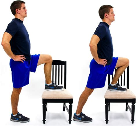Hip Flexor Stretch - Foot on Chair - Physical Therapy ...