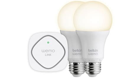 wemo led lighting starter set belkin aims to make all lighting smart with led lighting
