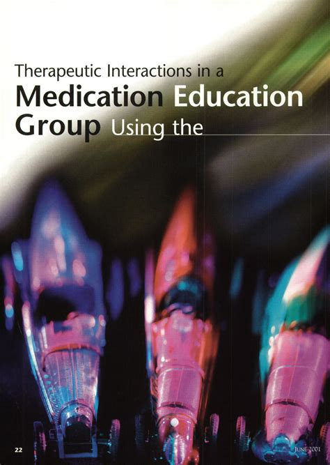 therapeutic interactions   medication education group