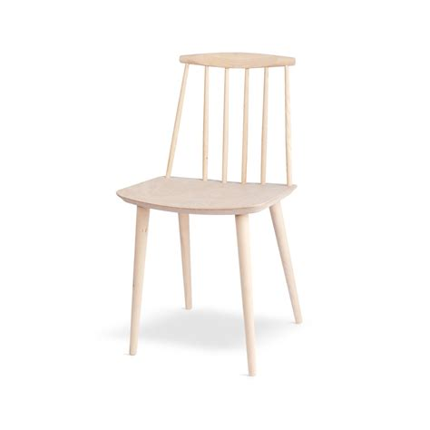 hay chaise j 77 chair in solid beech hay