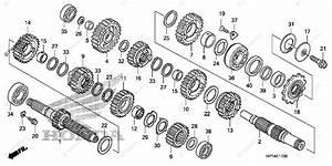 Honda Atv 2014 Oem Parts Diagram For Transmission
