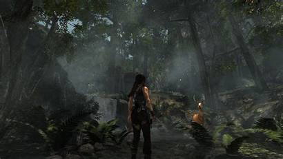 Tomb Raider Definitive Edition Lara Croft Forest