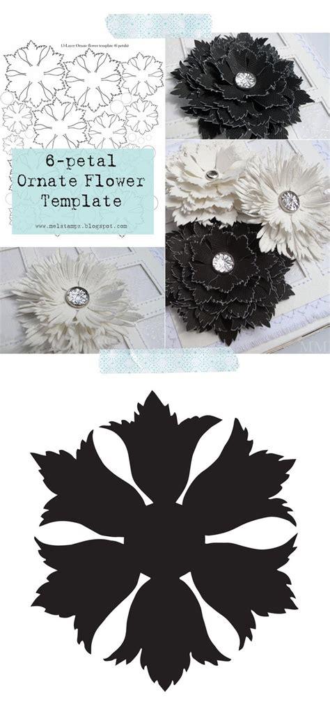cricut flower template 25 best flower silhouette ideas on flower stencils free clip flowers and swirls