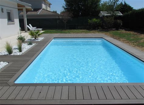 swimming pool deck  pebbles france silvadec