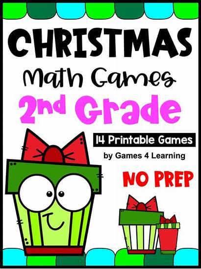Games Math Grade 2nd Classroom Activities Reindeer