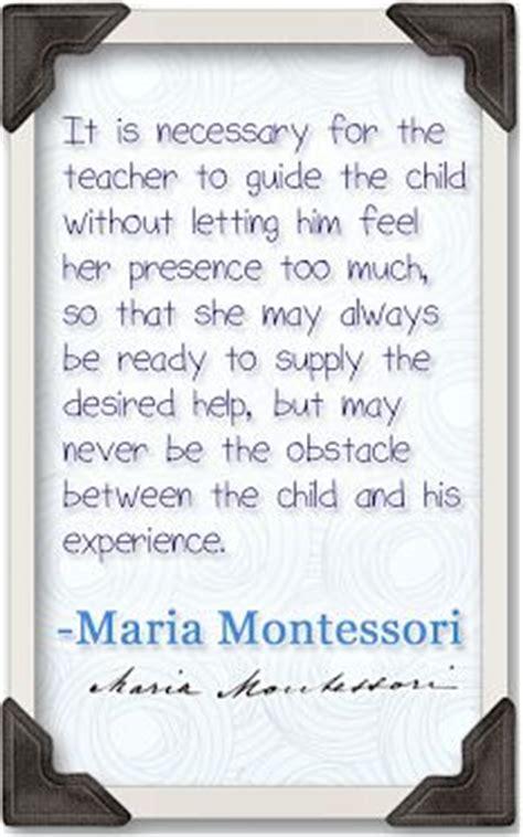 maria montessori quotes  nature quotesgram