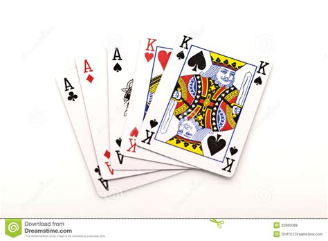 poker cards  white background royalty  stock images