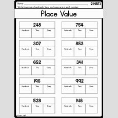 Best 25+ Place Value Worksheets Ideas On Pinterest  Expanded Form, Grade 3 Math And Math For