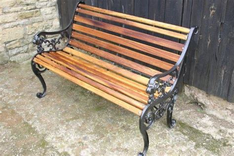 replacement wood slats for cast iron bench garden bench restoration kits for uk delivery arbc