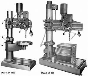 Ab Arboga Maskiner Er 830  U0026 Er 1830 Radial Drill
