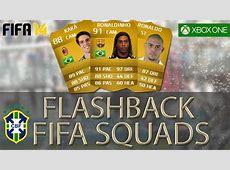 FLASHBACK FIFA SQUADS INSANE Brazil 2006 Team ft Ronaldo