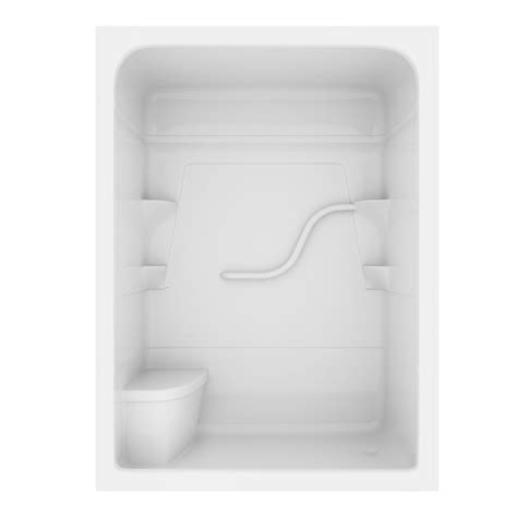 lasco bathtubs home depot mirolin 60 inch 3 acrylic shower stall with