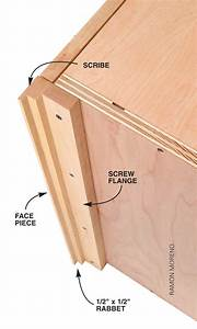 Q & A: Fitting a Frameless Cabinet Into a Corner