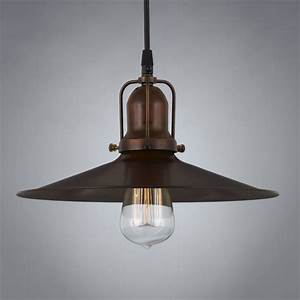 Eaton brass vintage pendant light antique
