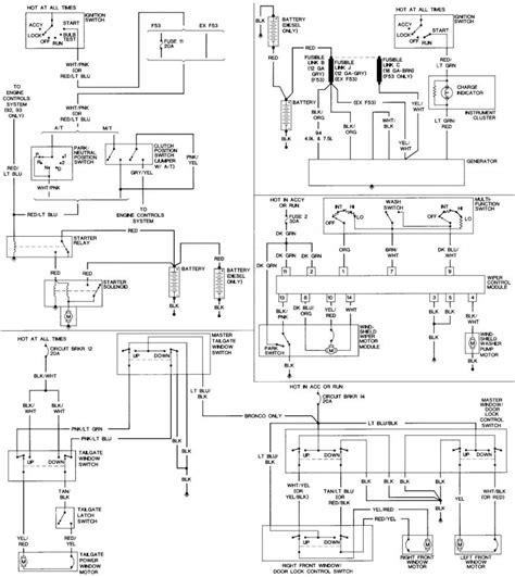 Power Window Wiring Schematic 1999 F 150 by Wiring Diagrams Schematics 7 3l Idi Diesel Forum
