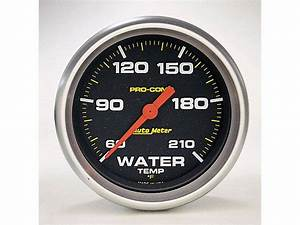 Auto Meter Pro Comp Series Water Temperature Gauge
