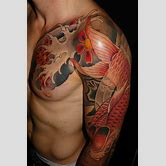 samurai-shoulder-tattoo