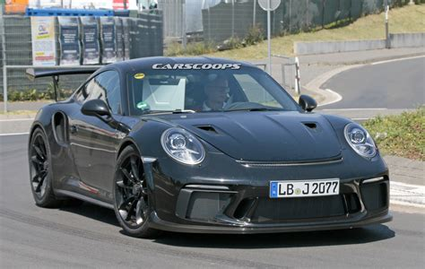 porsche 991 gt3 rs upcoming porsche 991 2 gt3 rs coming with gt2 aero bits and more power