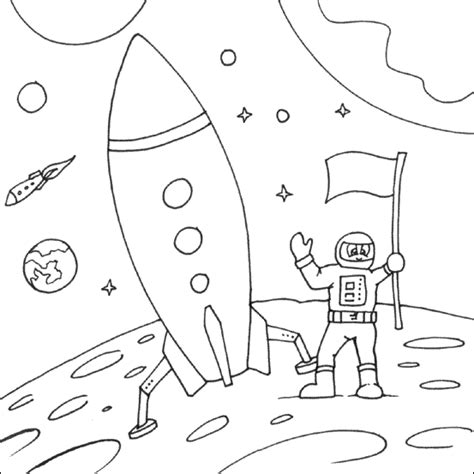 printable moon coloring pages  kids  coloring pages  kids