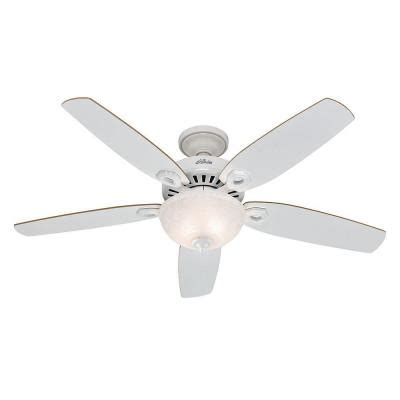 Home Depot Ceiling Fans White by Builder Deluxe 52 In White Ceiling Fan 53089 The