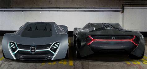 elk mercedes electric concept car wordlesstech