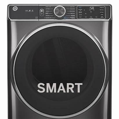 Dryer Ge Smart Electric Load Ft Cu