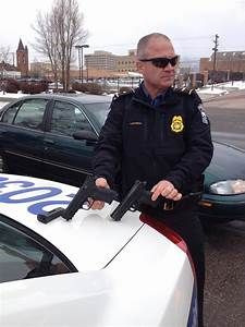 Police Officer Compares Real Gun to BB Gun. - Simple Thing ...