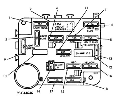 1996 Lincoln Fuse Box Diagram by Solved Find A Diagram For 1989 Lincoln Towncar 4 Door Fixya