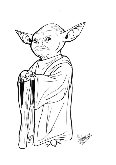 Pumpkin Head 2017 by Yoda Head Outline Pictures To Pin On Pinterest Pinsdaddy