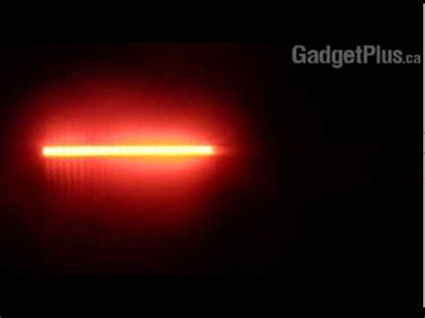 Knight Rider Led Light Scanner Bar Red Gadget Plus Youtube