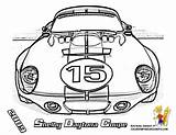 Coloring Mans Le Shelby Daytona Printables Coupe Race Cars 2009 Yescoloring Boys Powerful Formula sketch template