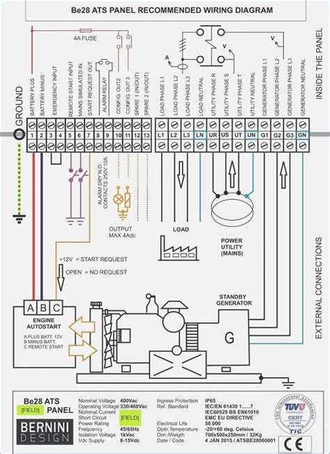 Generac Automatic Transfer Switch Wiring Diagram Amp