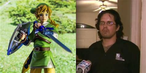 Real Life Legend Of Zelda Sword Stabs Real Life Man In