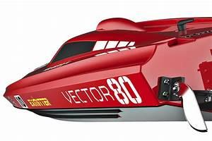 Volantex Vector 80 Brushless Boat Ready Set  No Battery
