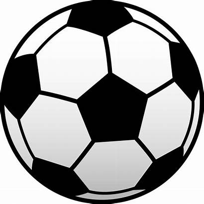 Soccer Ball Football Clip Clipart Outline Vector