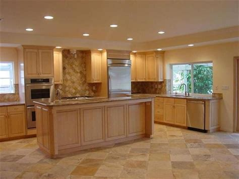 color schemes for kitchens with cabinets kitchen color schemes with maple cabinets maple kitchen