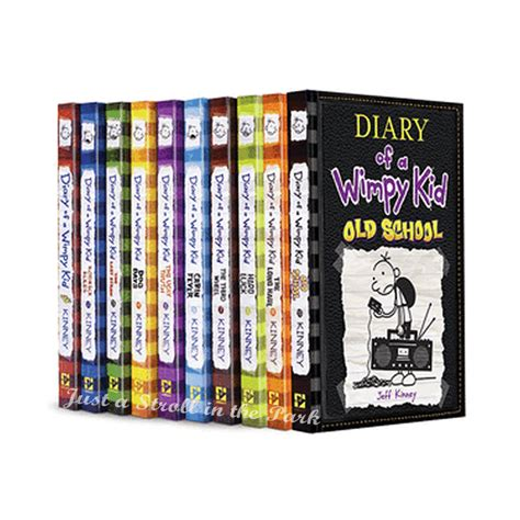 diary   wimpy kid complete series hardcover books
