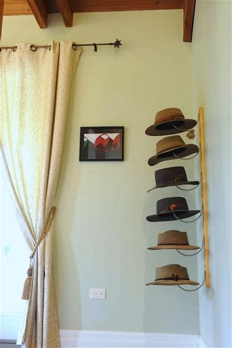 hat rack ideas 14 diy hat racks diy to make