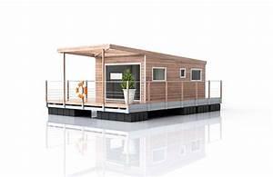 Maison Flottant Prix : la cabane flottante au confort moderne aquaprezzo aquashell ~ Dode.kayakingforconservation.com Idées de Décoration