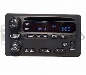 2002-2004 Oldsmobile Alero Factory Am Mono Fm Stereo Radio Cd Player