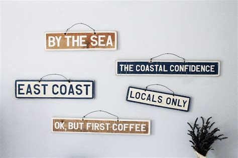 Brandy Melville Signs & Weathered Signs, Home Decor